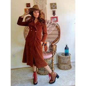 70s union made corduroy coat